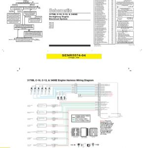 Cat 3406e Wiring Diagram - Nice Caterpillar Wiring Diagrams Model Best for Wiring 6l