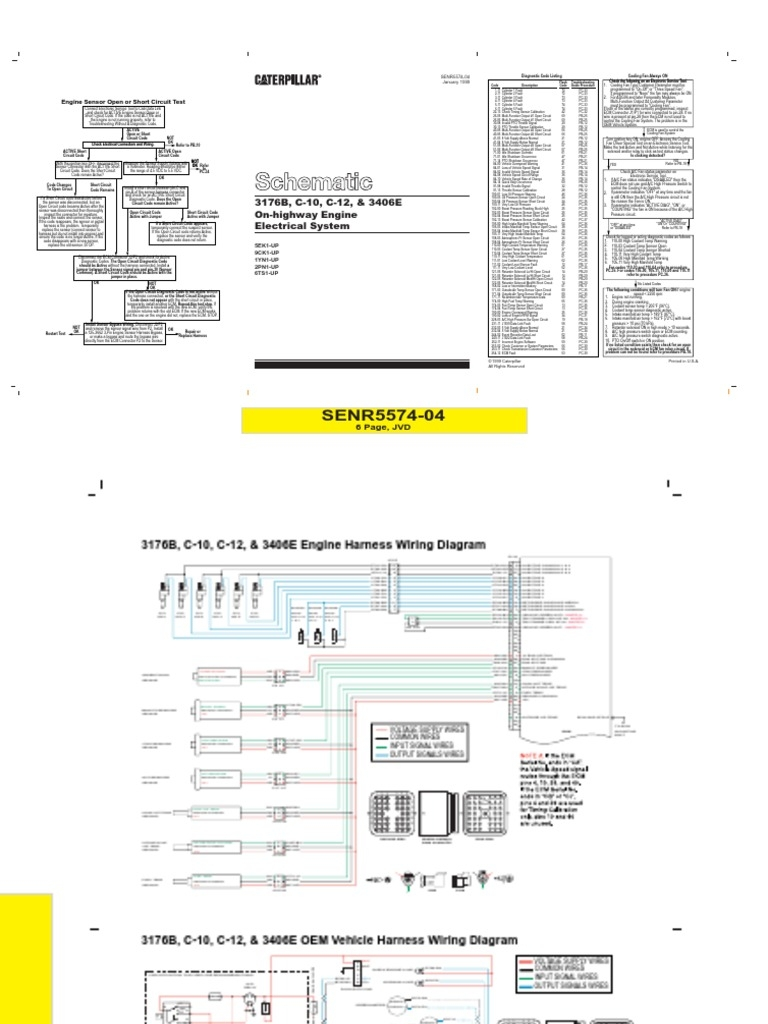 Cat 3406e Wiring Diagram Free Wiring Diagram