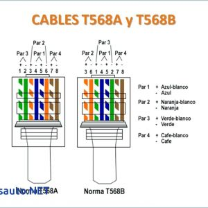 Cat 5 Wiring Diagram Pdf - Cat 5 Wiring Diagram Pdf Diagrams for Cable at B and Best 20b