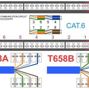 Cat 5e Wiring Diagram Wall Jack - Pinout Likewise Cat 6 Wiring Diagram Wall Jack On Rj11 to Rj45 Rh Hannalupi Co 8a