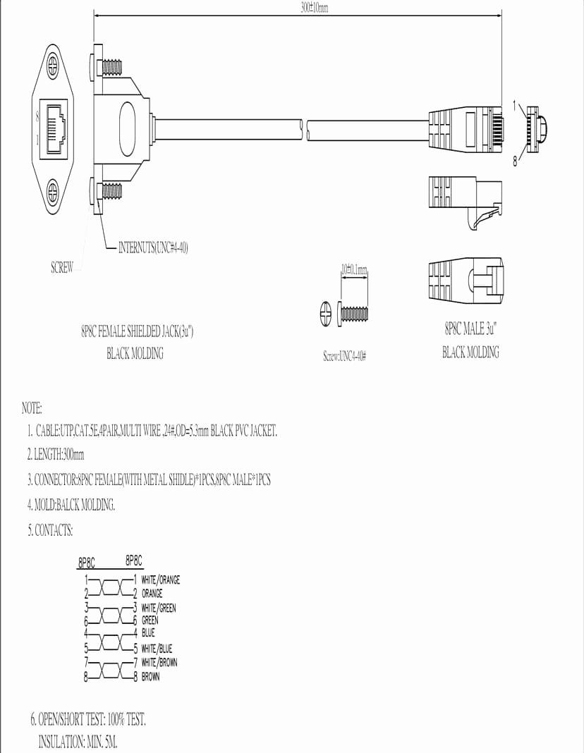 cat 6 wiring diagram