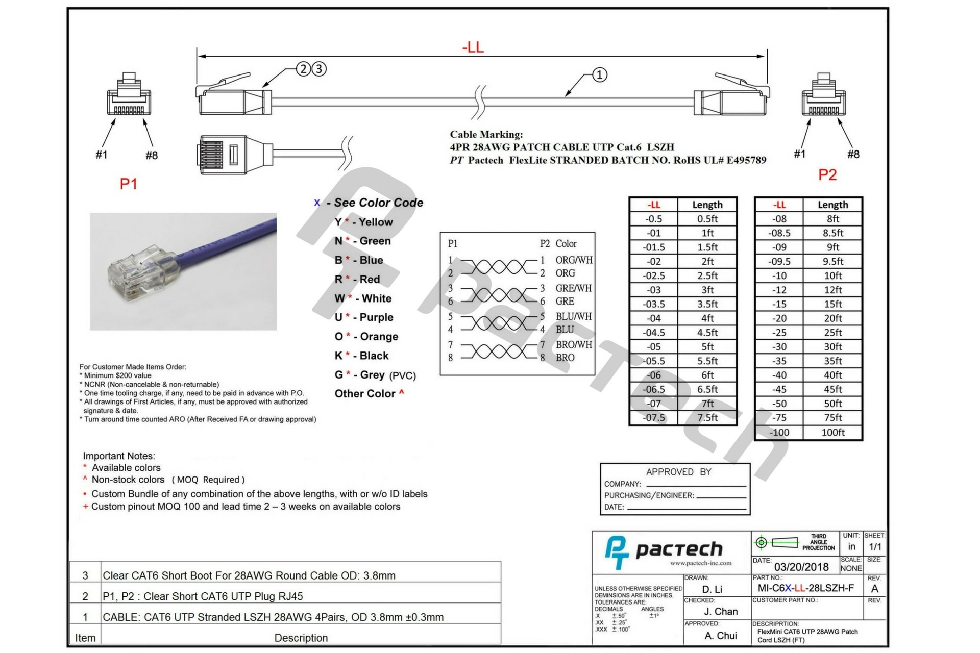 Cat 6 Wiring Diagram