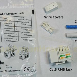 Cat6 Keystone Jack Wiring Diagram - Cat5e Keystone Jack Wiring Diagram Unique Inspirational Dsc 4 Wire Smoke Alarm Wiring Diagram with Relay 13i