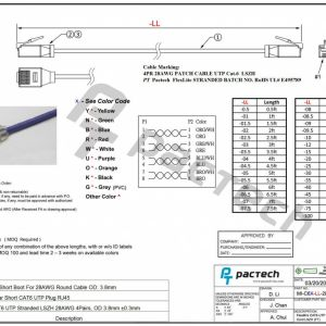 Cat6 Punch Down Wiring Diagram - Cat5e Cable Diagram 16b
