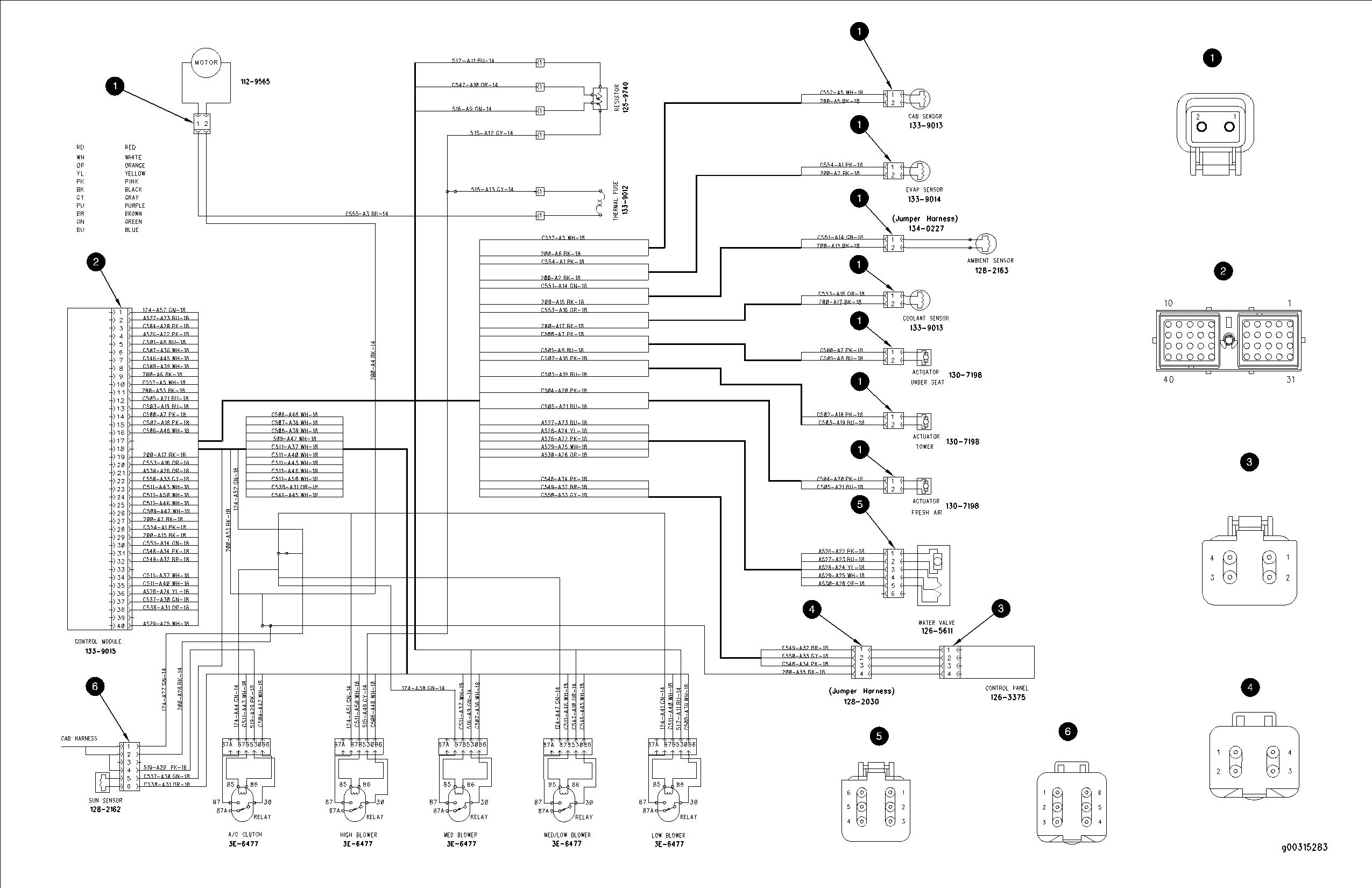 Caterpillar Starter Wiring Diagram