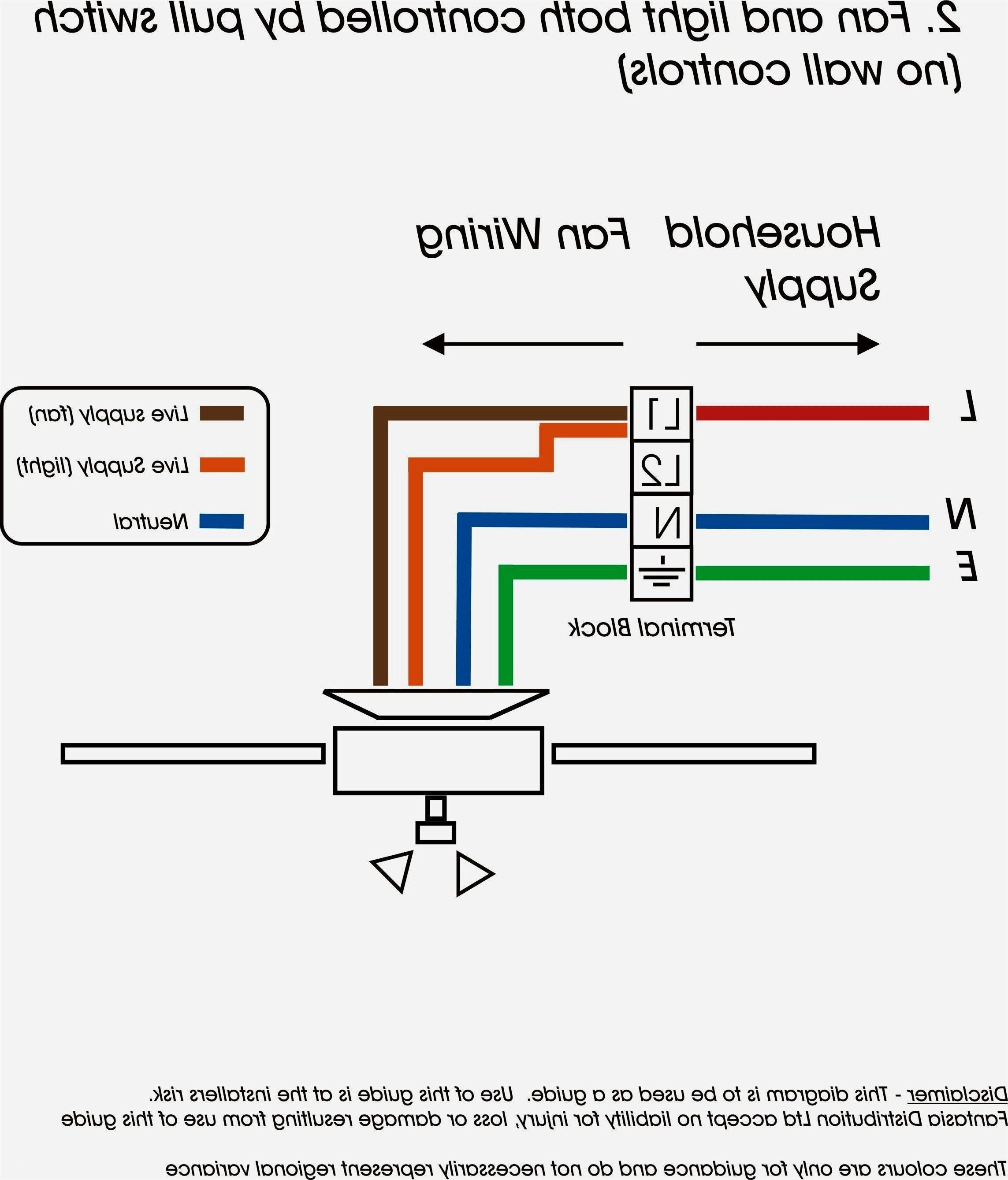 Ceiling Fan Wiring Schematic - Ceiling Fan Wire Diagram 19k