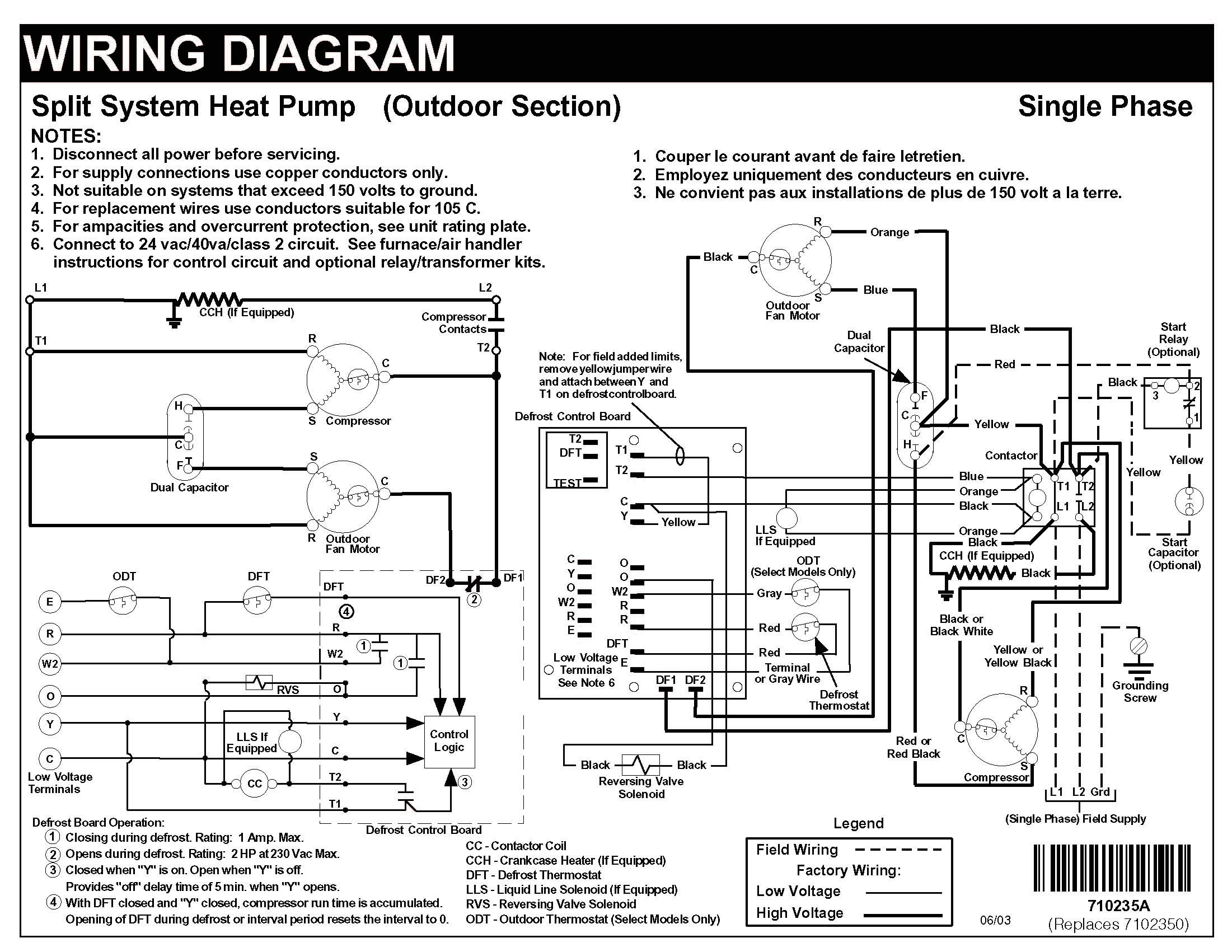 Air Conditioning Wiring Schematic
