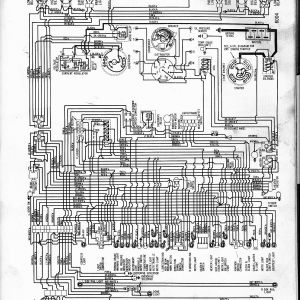 Central Vacuum Wiring Schematic - 1960 V8 Biscayne Belair Impala 1s