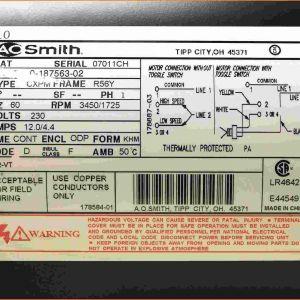 1 2 Hp Century Electric Motor Wiring Diagram - Wiring