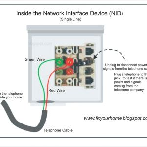 Centurylink Nid Wiring Diagram - Telephone Jack Wiring Diagram Besides Dsl Telephone Wiring Nid Centurylink Nid Wiring Diagram Unique How 14i