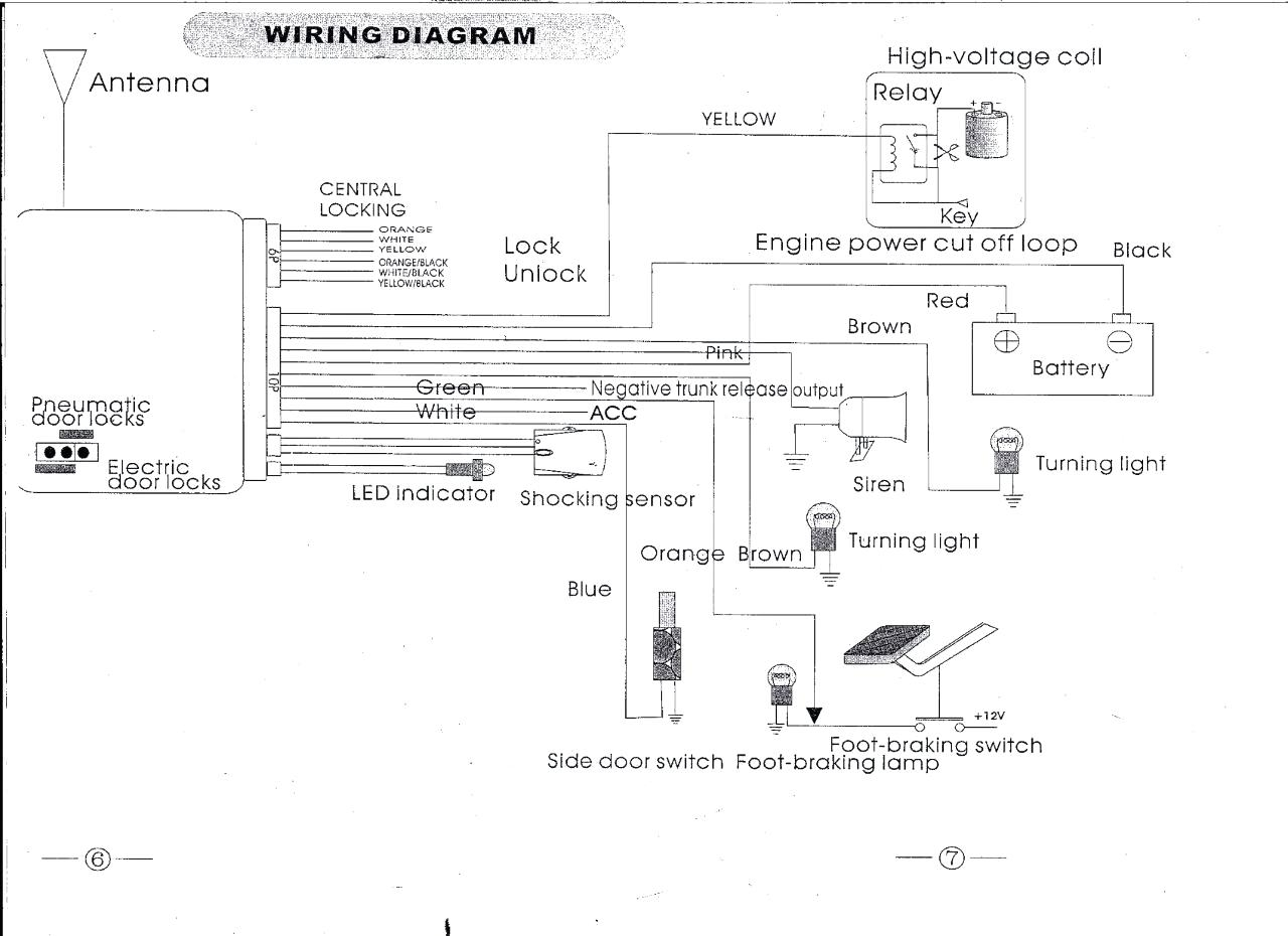 chapman vehicle security system wiring diagram Download-Chapman Vehicle Security System Wiring Diagram Car Alarm With Electrical Pics Diagrams 3-t