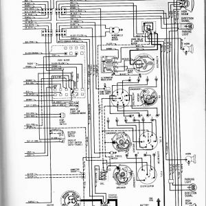 Chevrolet Cruze Diagram Wiring Schematic - 1965 Chevy Ii All Models Right 17f