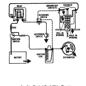 Chevy Colorado Wiring Diagram - 1955 Power Windows & Seats · 1955 Overdrive Circuit 19m