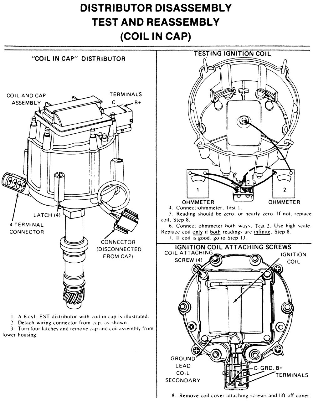 Gm Hei Ignition Wiring Diagram Schematic Diagrams Simple Post Starter Solenoid Distributor