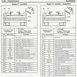 chevy radio wiring diagram - 2017 silverado speaker wire diagram elegant  great 2004 chevrolet impala car