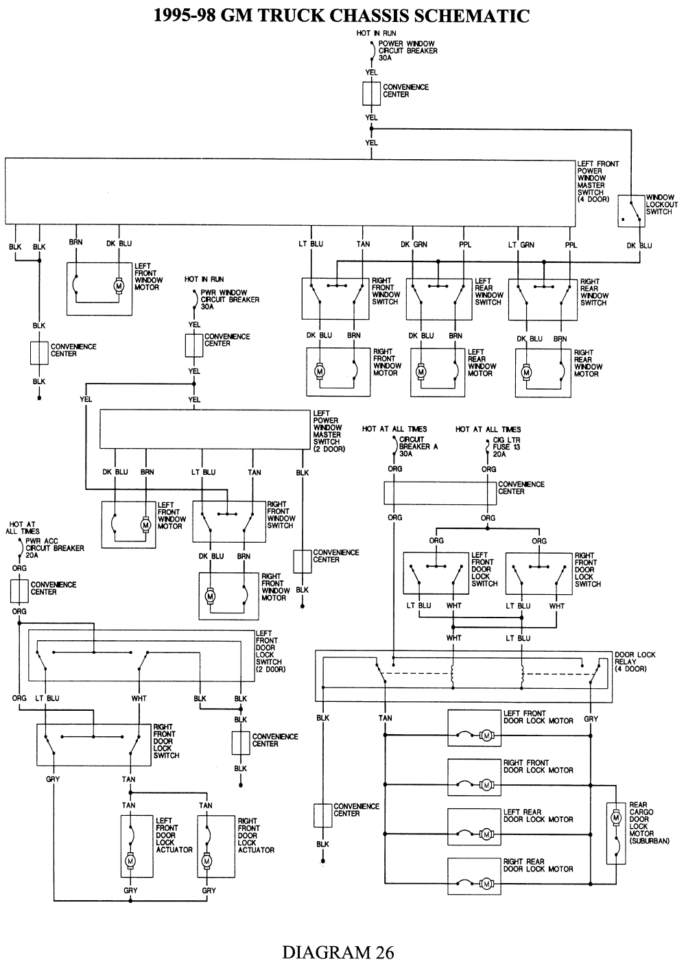 Chevy S10 Radio Wiring Diagram
