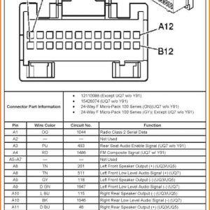 Chevy Silverado Radio Wiring Diagram - 7 2002 Chevy Trailblazer Stereo Wiring Harness Motor at 2004 Silverado Diagram 11g