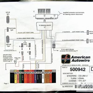 Chevy Steering Column Wiring Diagram - Brake Light Wiring Diagram Chevy Luxury Turn Signal Steering Column 2b