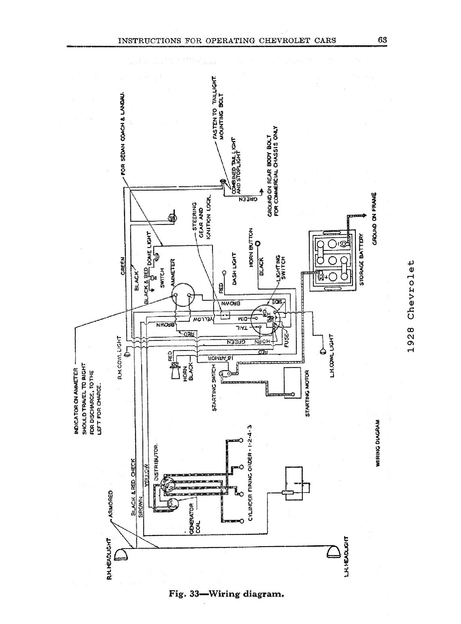 chevy steering column wiring diagram