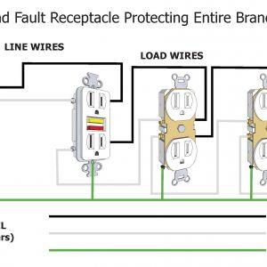 Circuit Breaker Wiring Diagram - Wiring Diagram Gfci Fresh Gfci Wiring Diagram without Ground Valid Gfci Circuit Breaker Wiring 3q