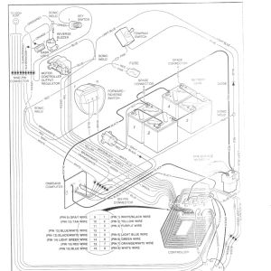 Club Car Wiring Diagram Gas - Wiring Diagram Auto Mate 16s