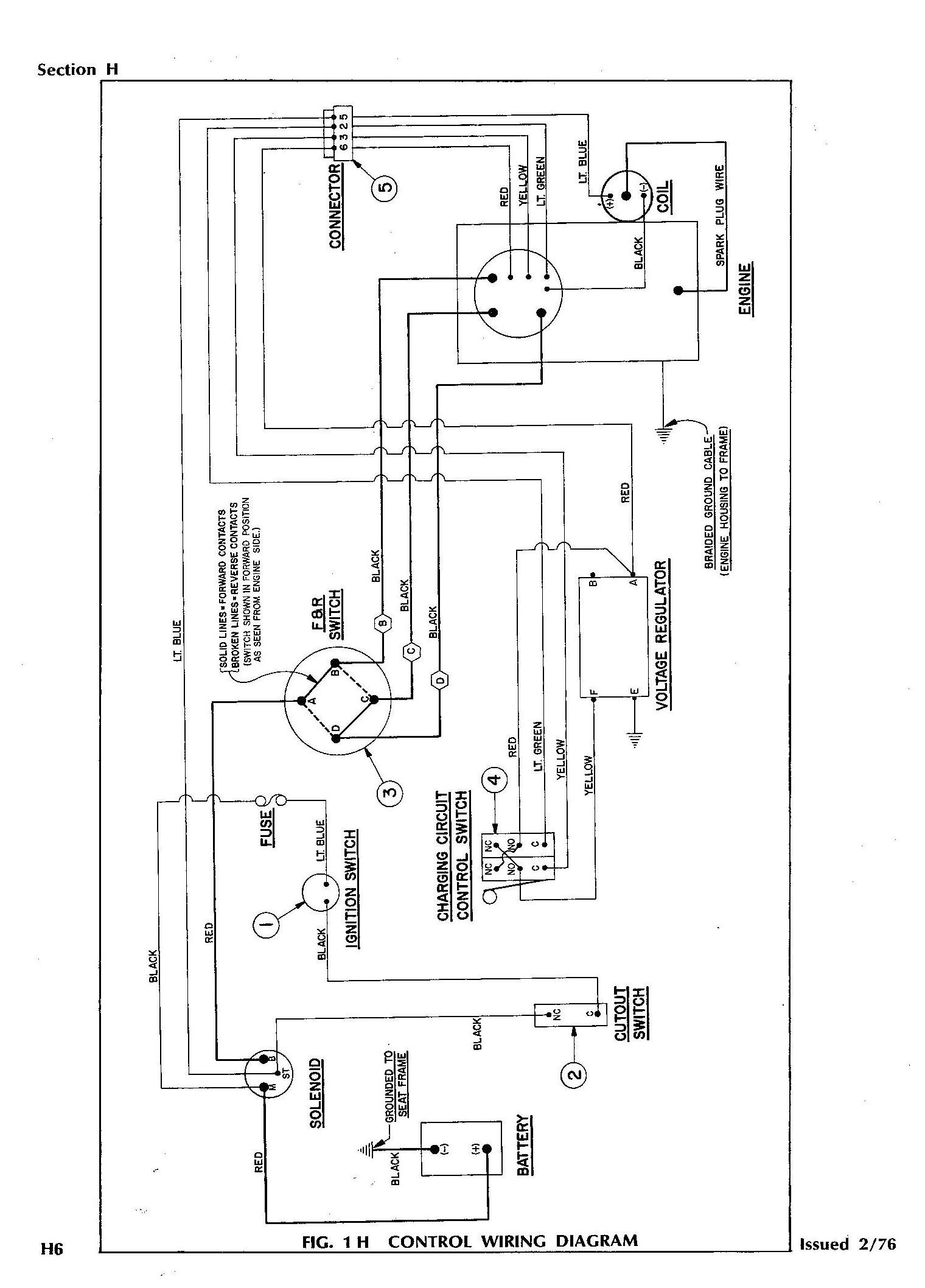 Club Car Wiring Diagram Gas - Wiring Diagram for Club Car Electric Golf Cart Valid Wiring Diagram for Club Car Gas Valid 2q