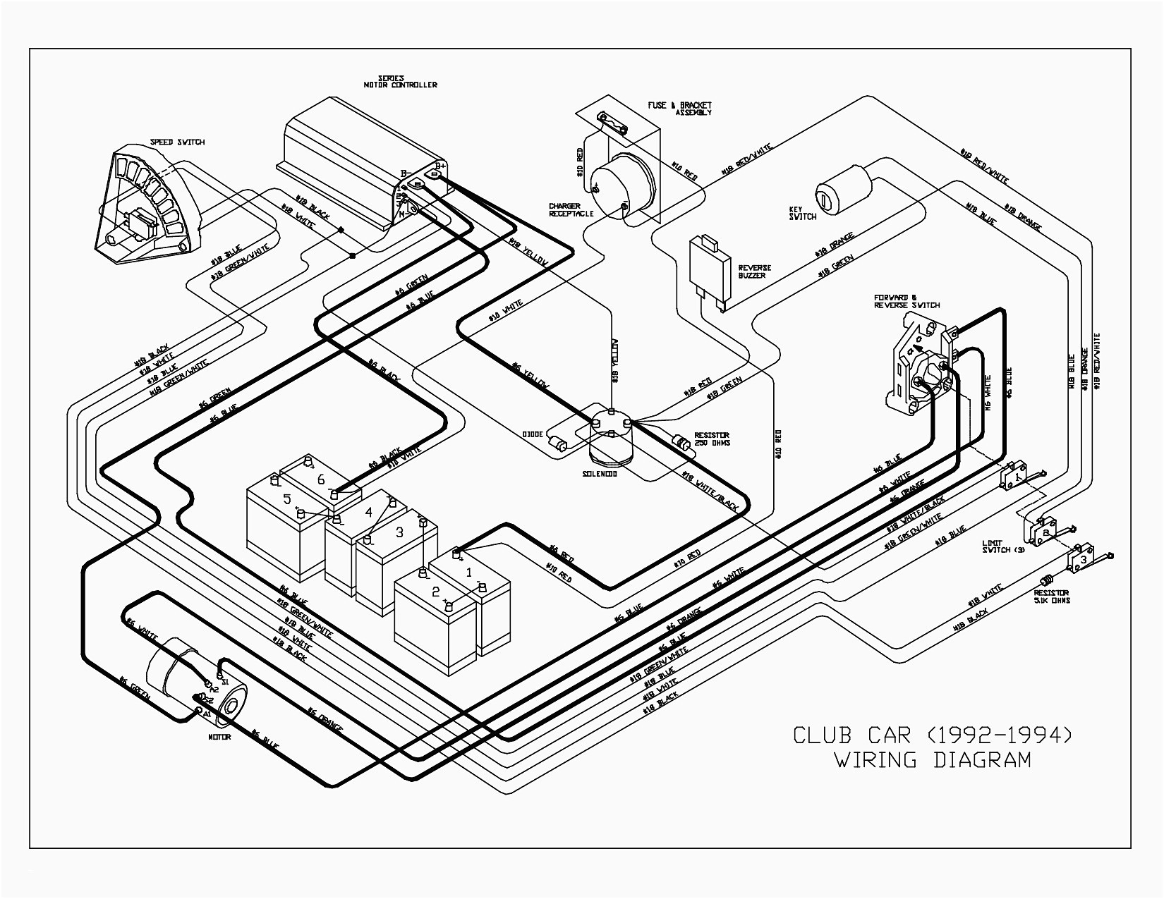 club car wiring schematic Collection-Wiring Diagram for Club Car Golf Cart Save Wiring Diagram for Club Car Precedent New Golf 9-t