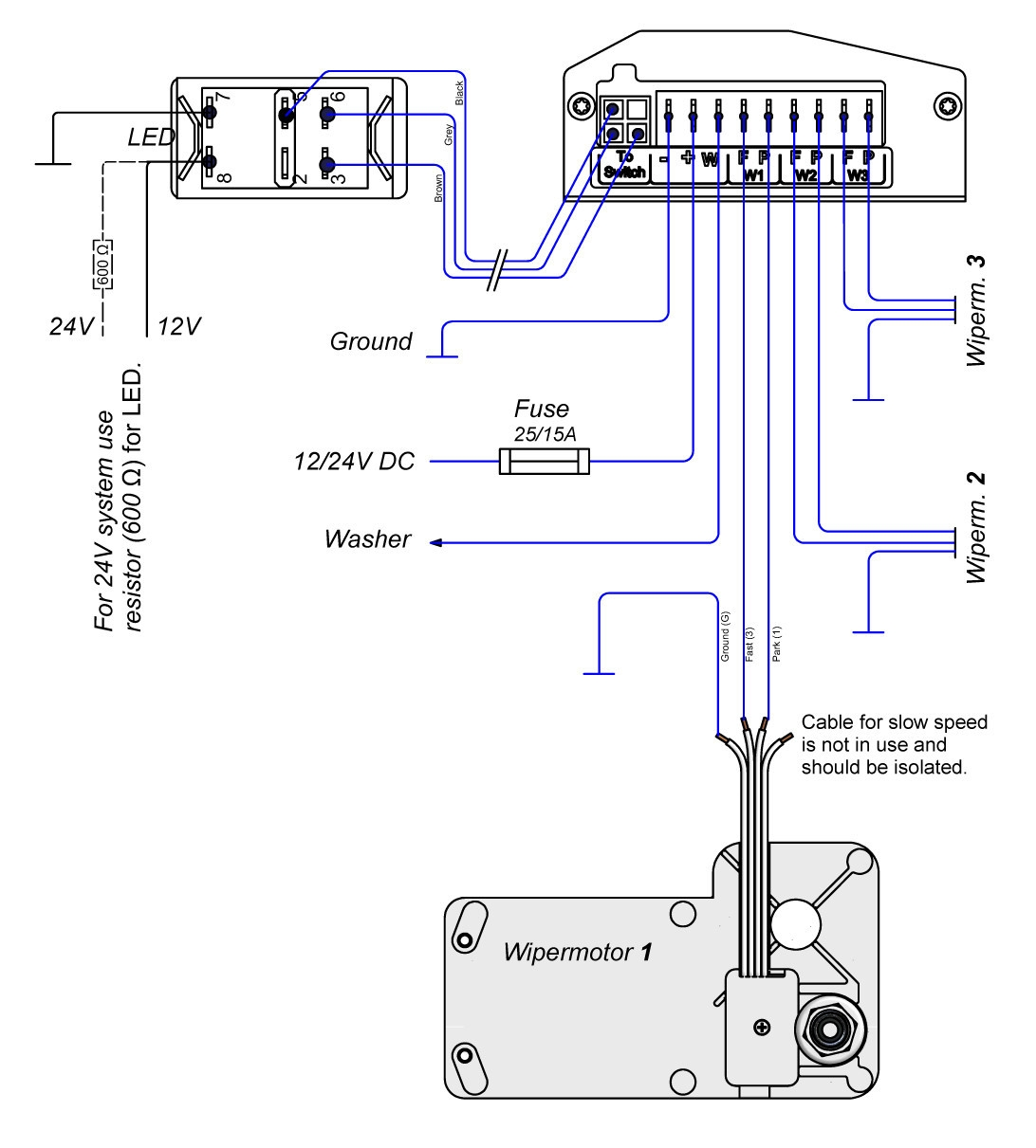 Cole Hersee Wiper Switch Wiring Diagram