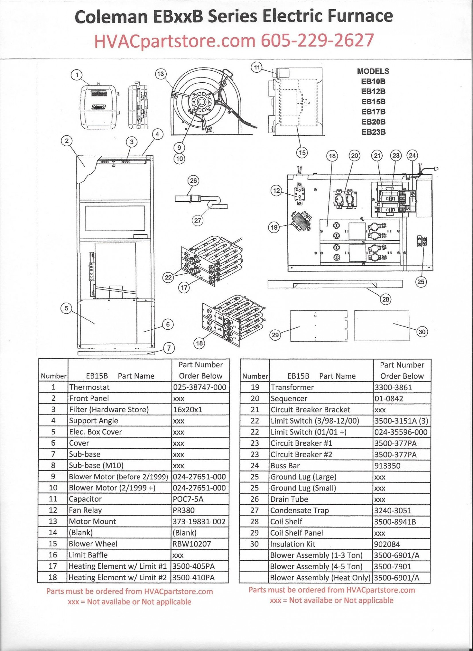 coleman eb15b wiring diagram Collection-Central Electric Furnace Eb15b Wiring Diagram Refrence Goodman Electric Furnace Diagram Wiring Diagram Portal • 15-t