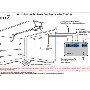 Commercial Overhead Door Wiring Diagram - Chamberlain Garage Door Opener Wiring Diagram How to Wire A Stunning 16d
