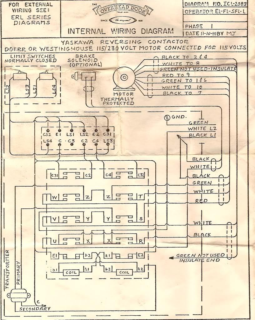 commercial overhead door wiring diagram Collection-Exterior mercial Garage Door Opener Wiring Diagram Wonderful 14-h