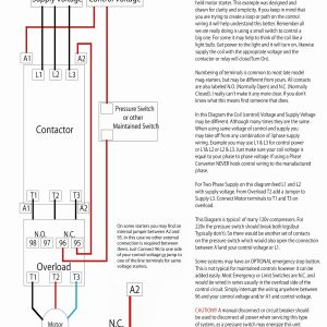 Contactor Wiring Diagram A1 A2 - 50 New Stock Contactor Wiring Diagram Diagram Inspiration 18e