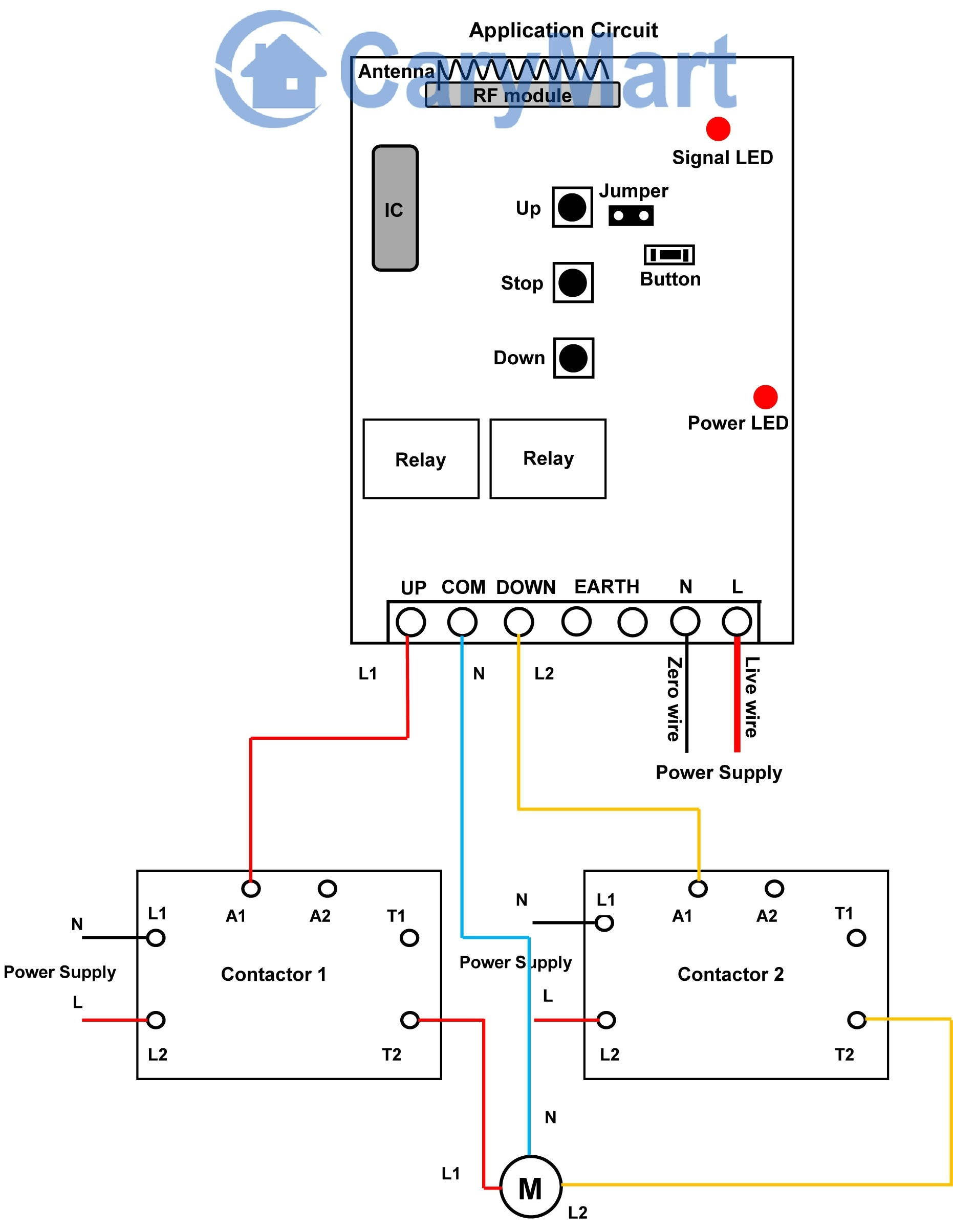 contactor wiring diagram a1 a2 Download-Circuit Diagram Contactor Best Motor Reversing Contactor Wiring 16-j