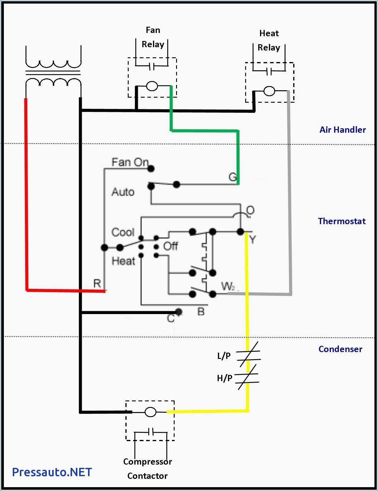 contactor wiring diagram ac unit Download-Central Ac Unit Diagram Wiring Copeland pressor Hvac Contactor Adorable Goodman Condensing 11-d