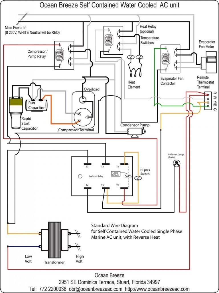 Air Conditioning Condenser Unit Diagram