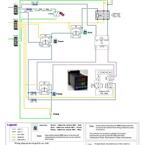 Control 4 Wiring Diagram - Control 4 Wiring Diagram Unique Excellent 220 Volt Pid Wiring Diagram Electrical Circuit 10g