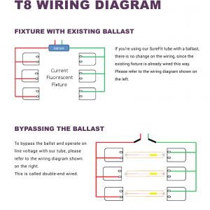 Convert T12 to T8 Wiring Diagram - 2 Lamp T8 Ballast Wiring Diagram Unique Nice Simkar Emergency Rh Chocaraze org Ge T12 Ballast 11h