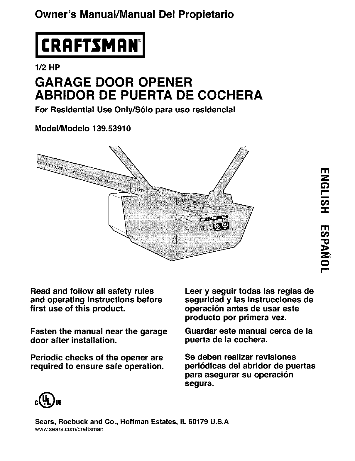 craftsman 1 2 hp garage door opener wiring diagram Collection-Craftsman Garage Door Opener Wiring Diagram Unique Garage Door Manual Subversia 2-j