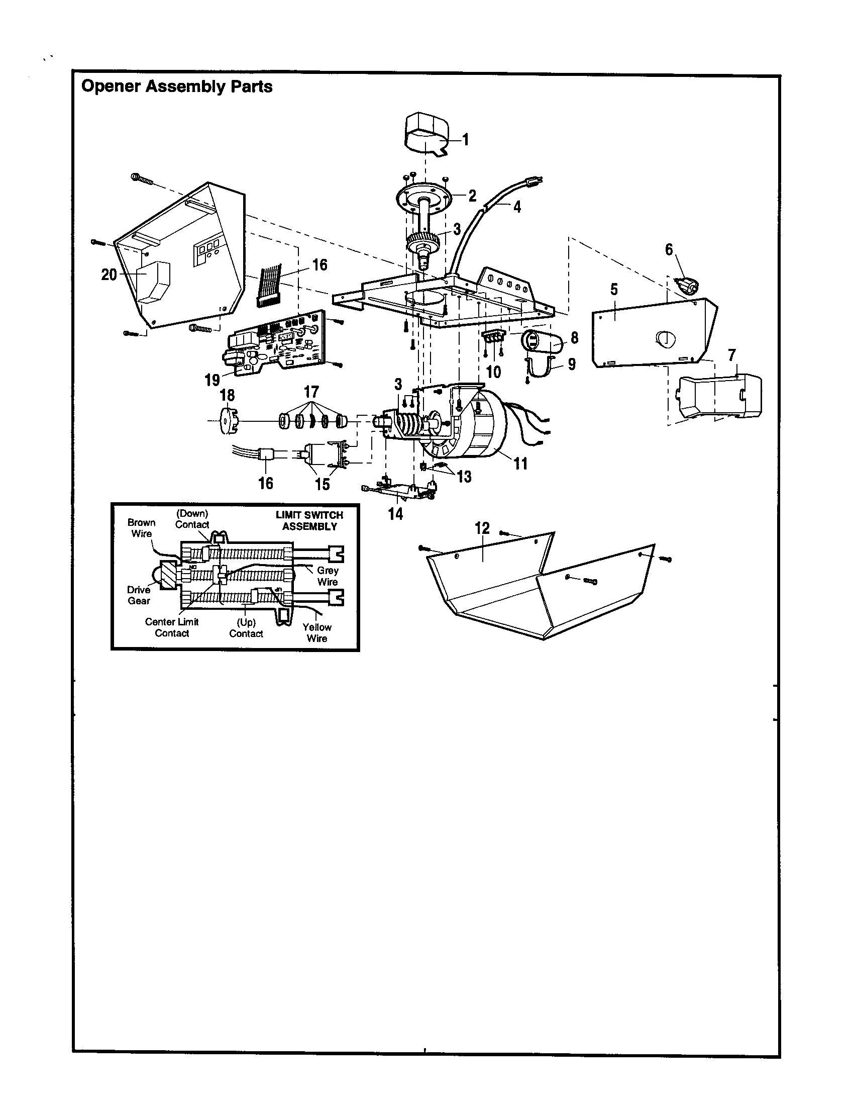 stanley garage door opener diagram craftsman garage door opener wiring diagram | free wiring ...