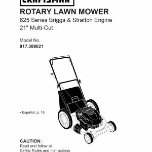 Craftsman Lawn Mower Model 917 Wiring Diagram - Husqvarna Tractor Parts Diagram Unique Craftsman Lawn Mower 917 User Guide 16o