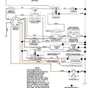 Craftsman Pto Switch Wiring Diagram - Craftsman Riding Mower Electrical Diagram 20q
