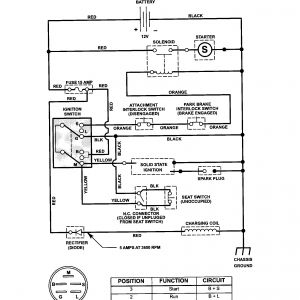 Craftsman Pto Switch Wiring Diagram - Wiring Diagram for Mtd Ignition Switch New Craftsman Riding Mower Electrical Diagram 14c