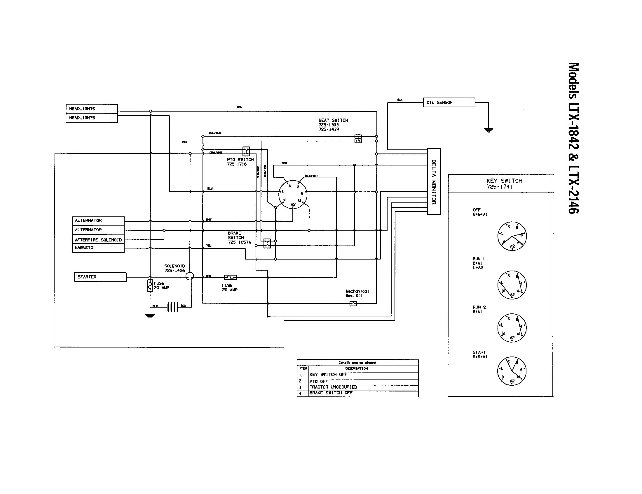 Craftsman Pto    Switch    Wiring    Diagram      Free Wiring    Diagram