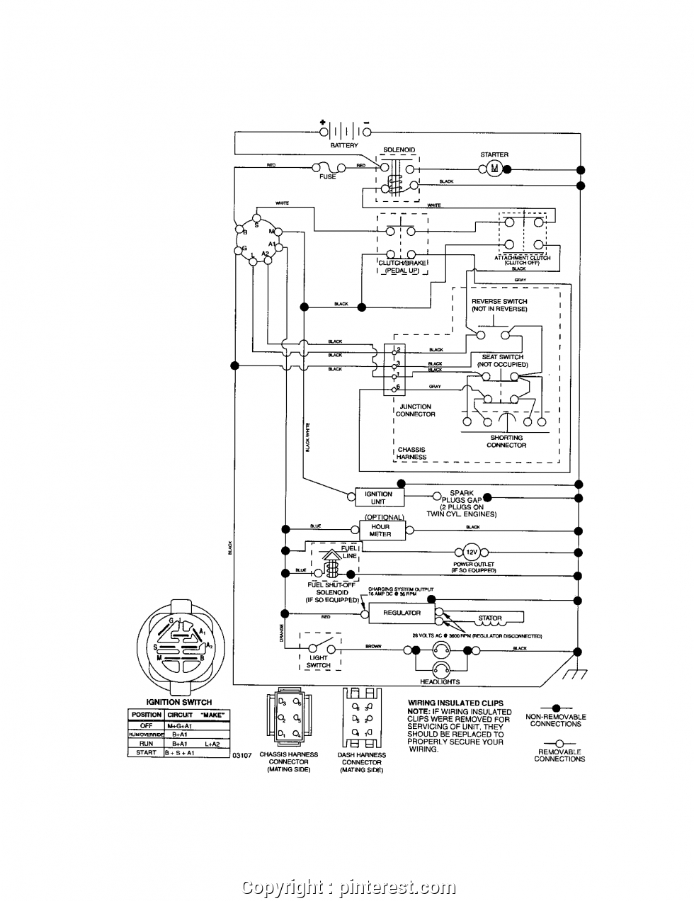 craftsman riding lawn mower lt1000 wiring diagram Collection-Excellent Wiring Diagram Craftsman Lawn Tractor Craftsman Riding Mower Electrical Diagram 7-m