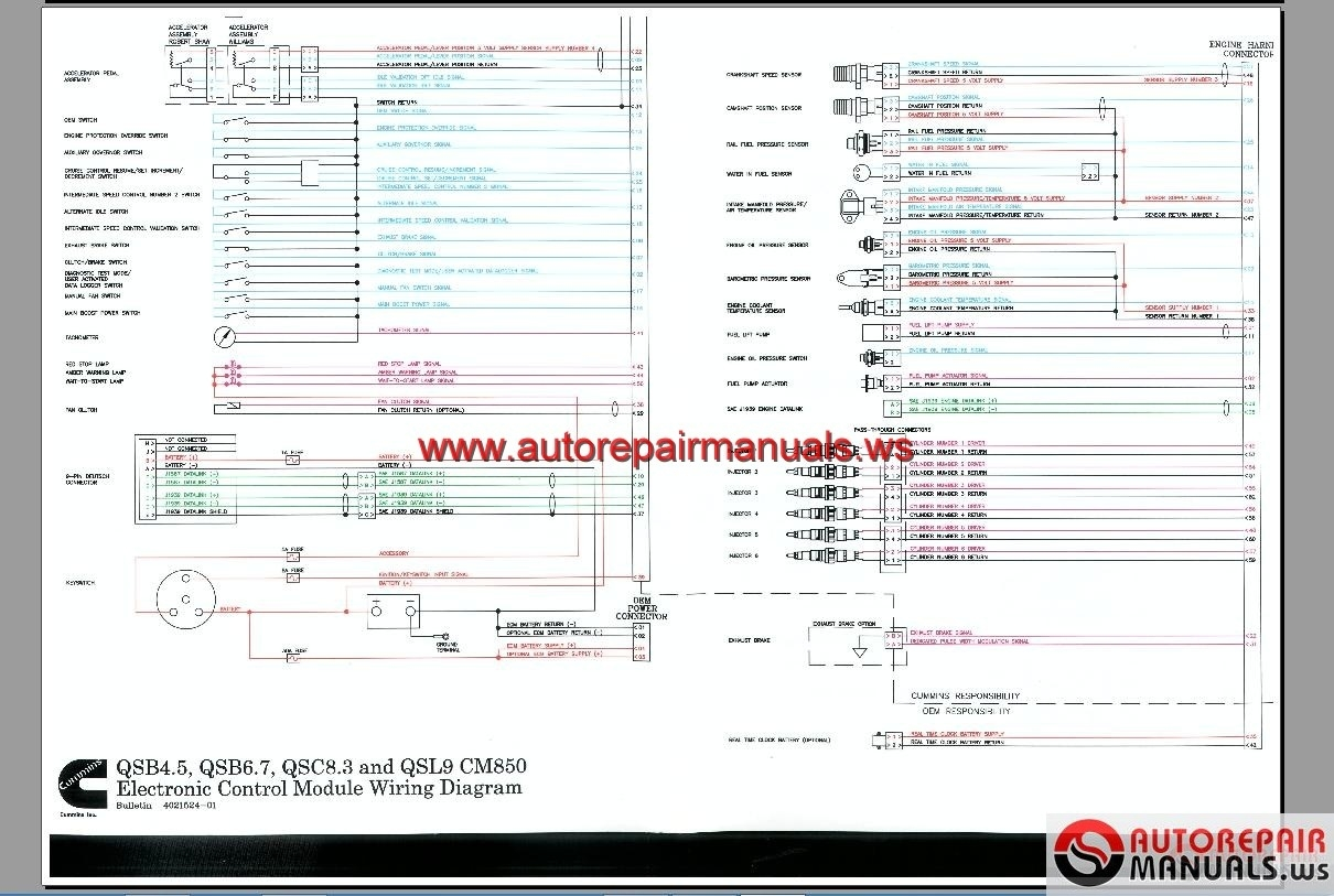 Cummins Ecm Wiring Diagram Free Diagrams Celect Plus Unique Full