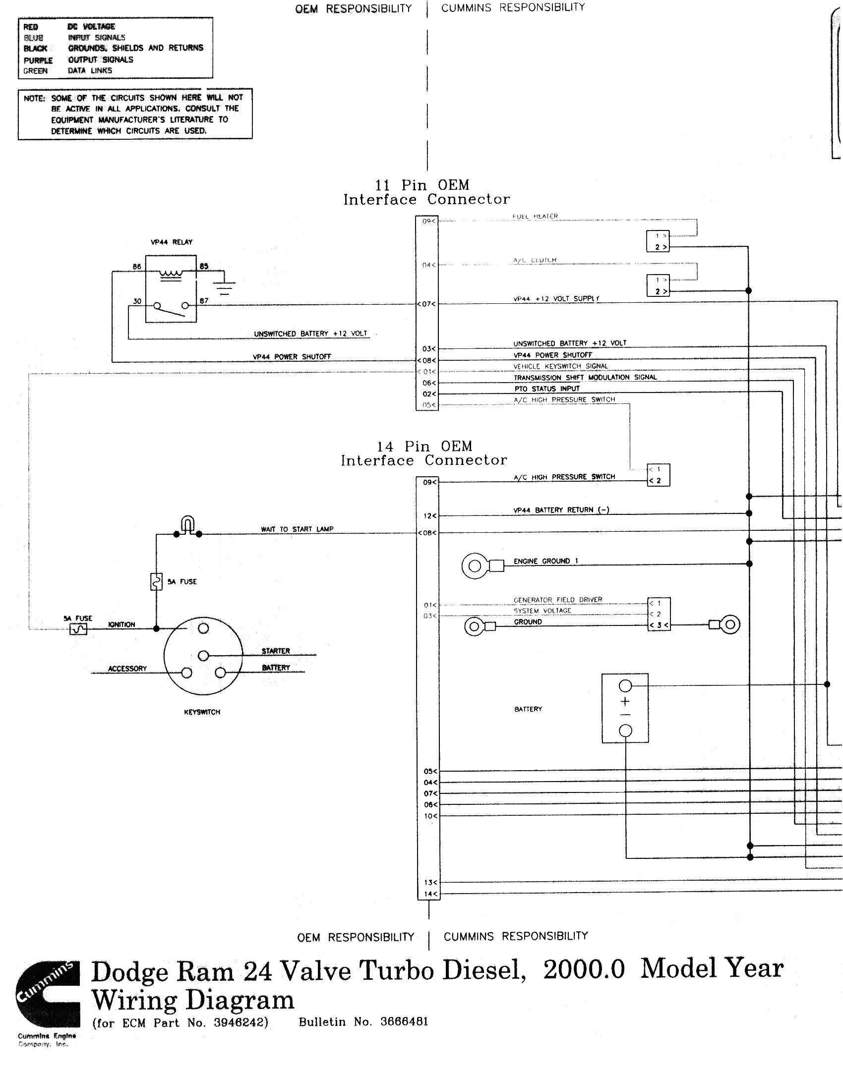 cummins fan clutch wiring diagram - 2005 dodge cummins ecm wiring diagram  wire center u2022 rh