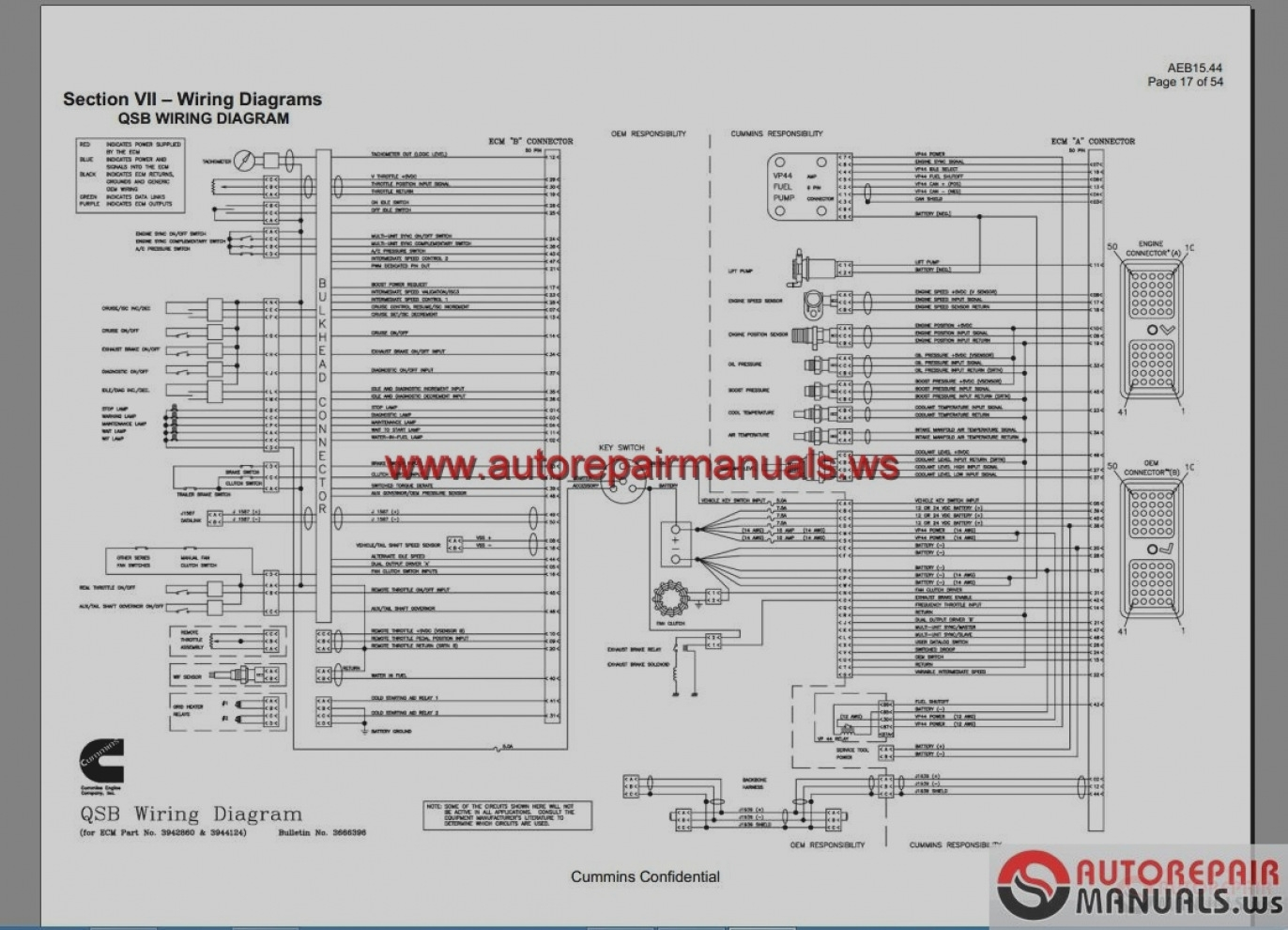 n14 ecm wiring diagram wiring diagram general Cummins N14 Wiring Schematic