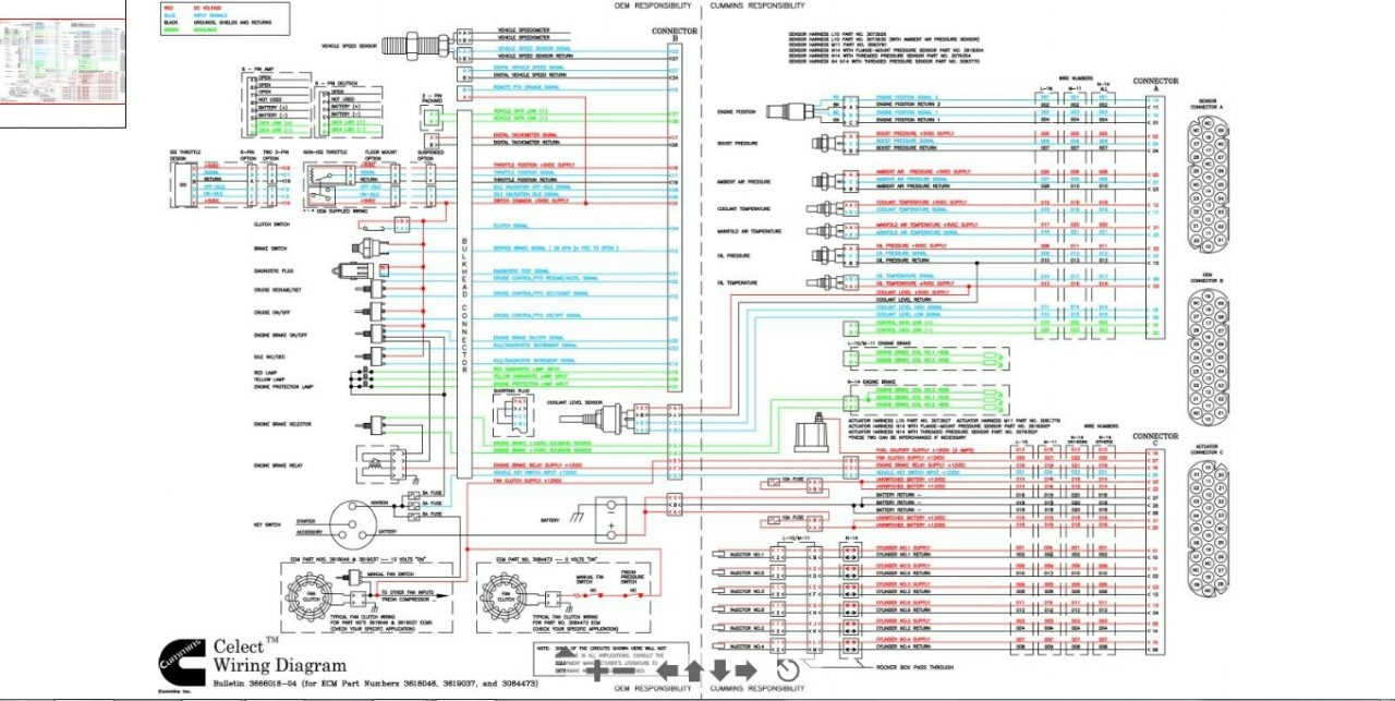 N14 Ecm Wiring Diagram Electrical Diagrams Mins Cummins Celect Plus Free Isx Engine