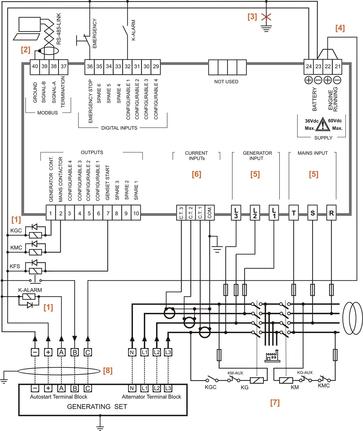 3 Phase Transfer Switch Wiring Diagram Cummins
