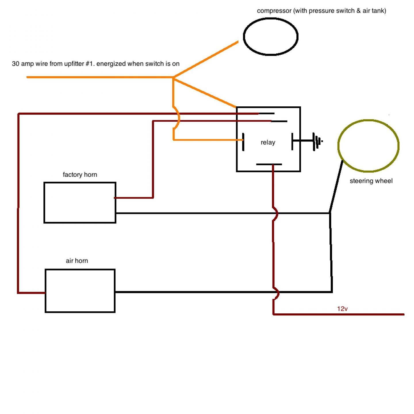 current sensing relay wiring diagram Collection-current sensing relay wiring diagram Collection air horn wiring diagram Collection Air Horn Wiring Diagram 15-t